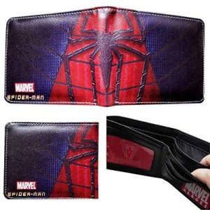 Spiderman Spider Logo Bifold Men's Boys Wallet