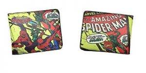 Comic Book Spiderman Wallet