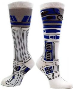 Star Wars R2D2 Socks