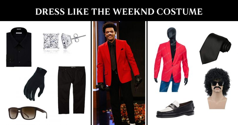The Weeknd Costume