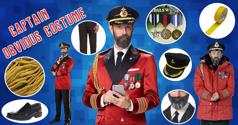 Captain Obvious Costume