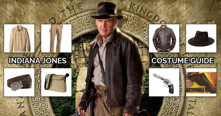 Indiana Jones Belt with Gun and Holster One-Size Indiana Jones