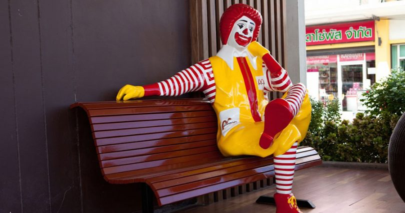 Ronald Mcdonalds Costume
