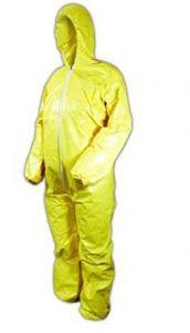 Ebola Yellow Disposable Costume