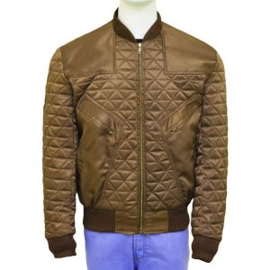 Franz Drameh Brown Jacket