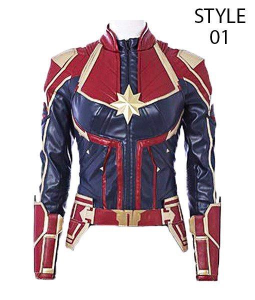 Captain Marvel Jacket Carol Danvers Jacket For Sale