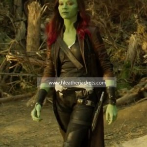 Guardians of the Galaxy Vol. 2 Gamora Jacket