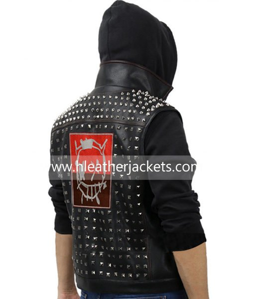 Watch Dogs 2 Wrench Jacket Leather H Leather Jackets