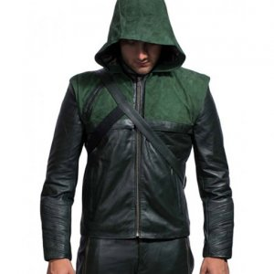 green arrow jacket