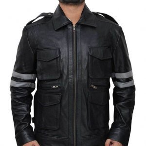Resident Evil 6 Leon Kennedy Leather Jacket