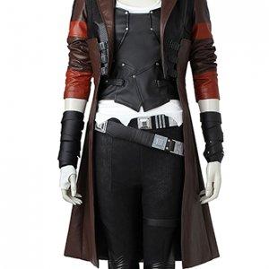 Gamora Leather Coat