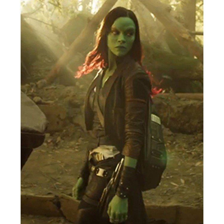 Guardians of the Galaxy 2 Gamora Jacket