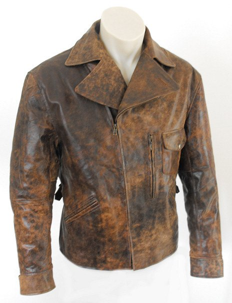 Escape From La Kurt Russell Distressed Snake Plissken Jacket