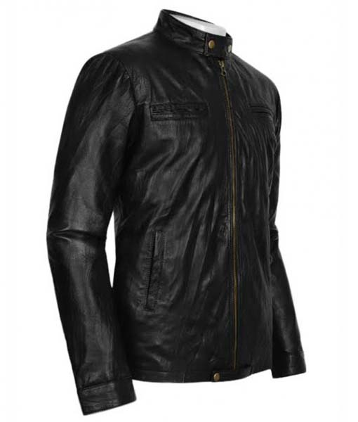 Zac Efron Jacket for Men |17 Again Oblow Leather Jacket
