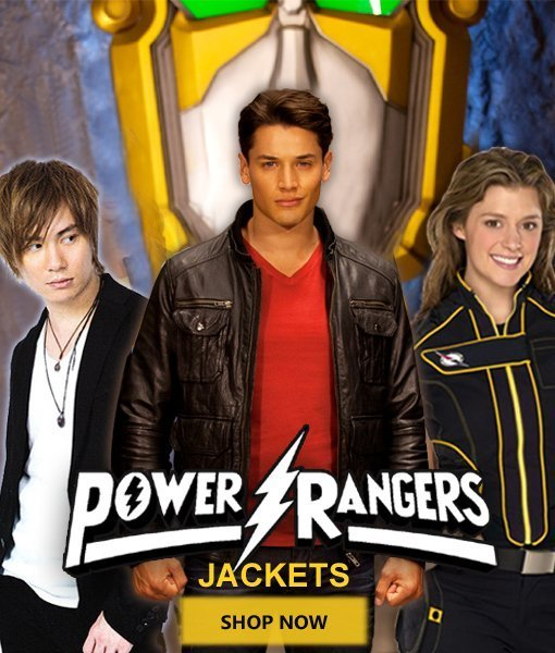 power rangers jackets