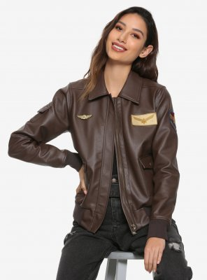 captain marvel flight brie larson bomber jacket