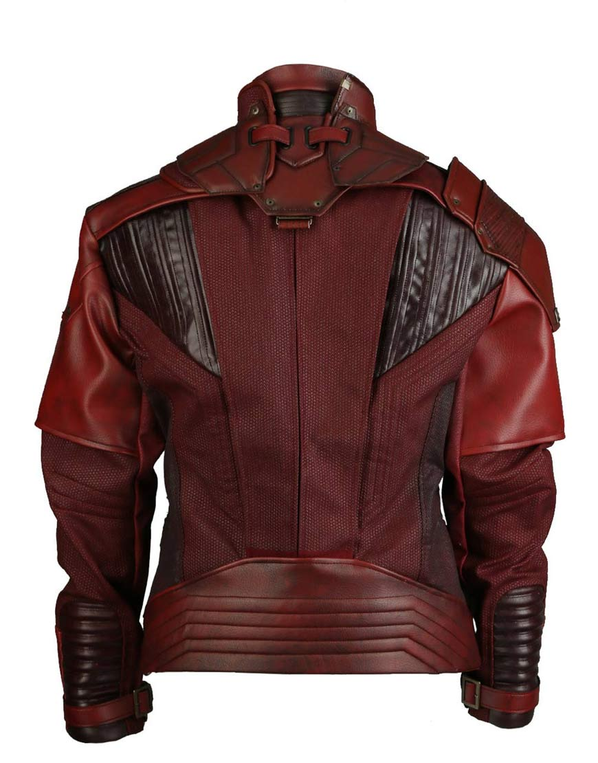 142ed92fd Avengers Infinity War Star Lord Leather Jacket