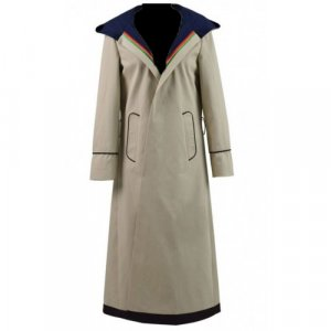 Jodie Whittaker Grey Trench Coat