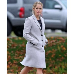 Arrow S06 Emily Bett Rickards White Coat