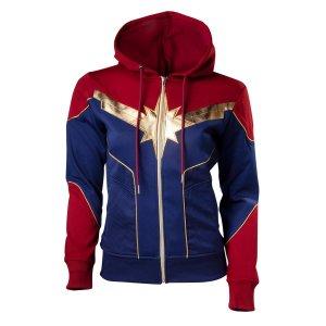 Captain Marvel Carol Danvers Hoodie