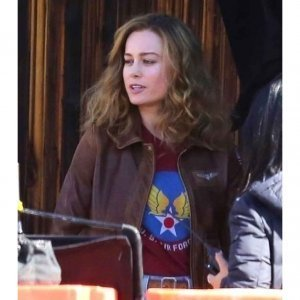 Flight Brie Larson Bomber Jacket