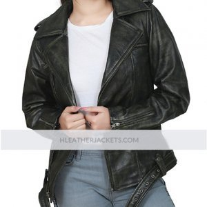 Captain Marvel Carol Danvers Biker Jacket