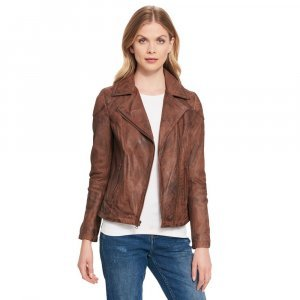 ASYMMETRICAL BUFFED JACKET