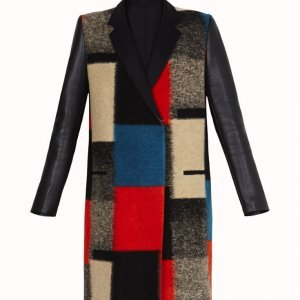 sheri holland blocked coat