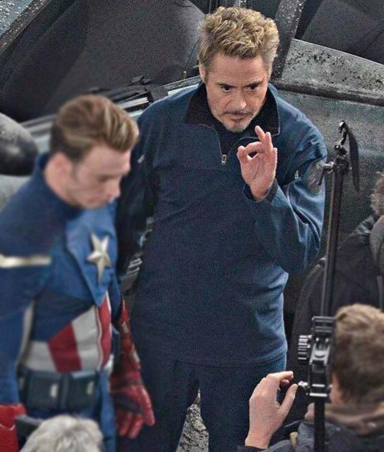 Avengers Endgame Tony Stark Jacket For Sale Hleatherjackets