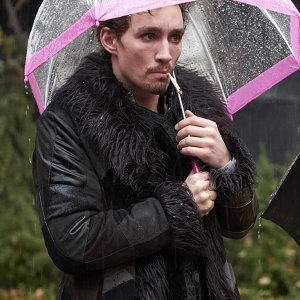 Umbrella Academy Klaus Shearling Coat