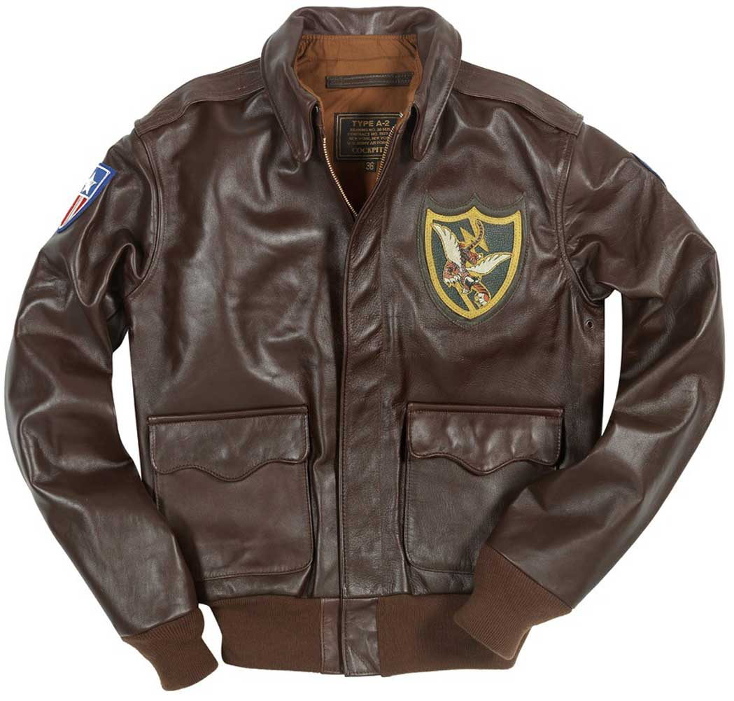 ec5ca457b Mens Flying Tigers A-2 Flight Jacket