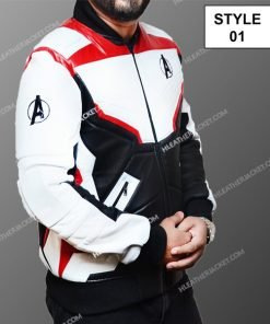 Avengers Endgame White Uniform Jacket