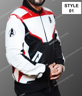 Avengers Endgame White Uniform Jacket