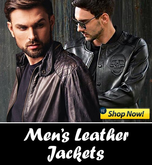 means leather jacket