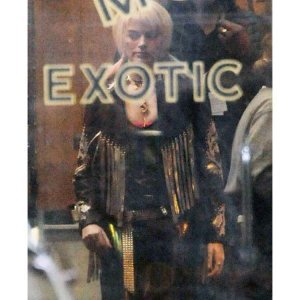 Birds of Prey Margot Robbie Fringe Jacket