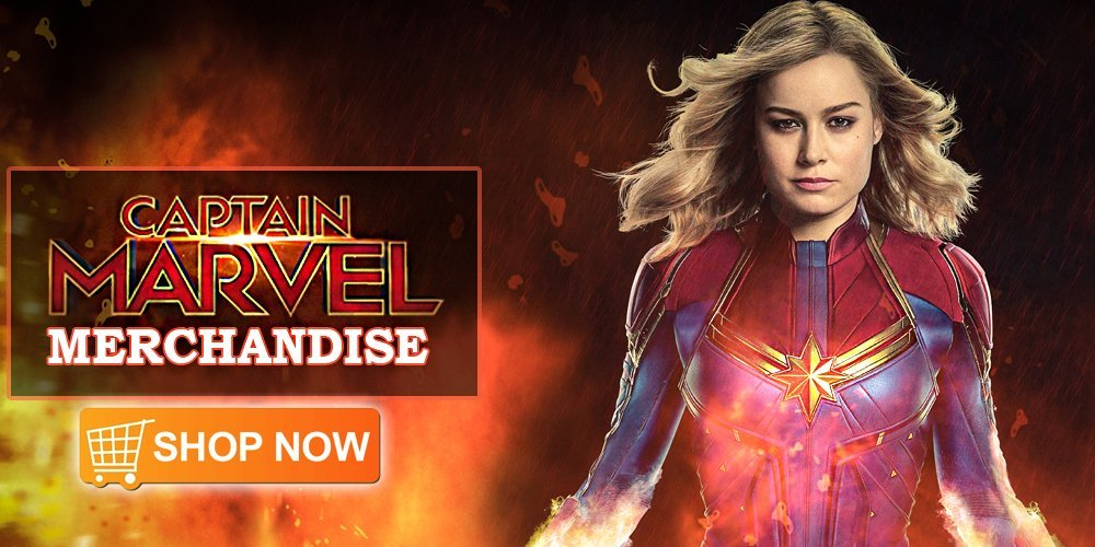 captain marvel merchandise