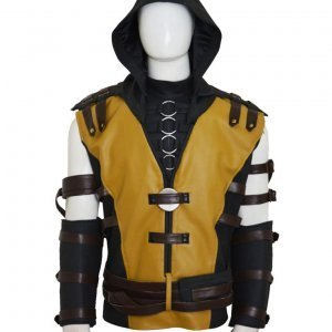 Mortal Kombat 10 Scorpion Jacket