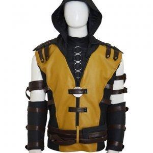Mortal Kombat 10 Scorpion Jacket