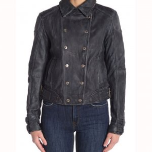 Dinah Drake Studded Leather Jacket