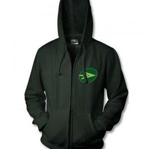 Green Arrow Logo Hoodie