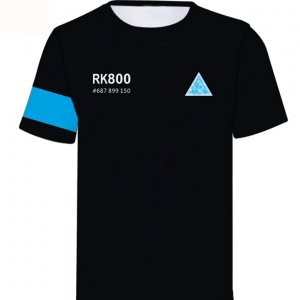 Detroit Become Human Connor RK- 800 T-shirt
