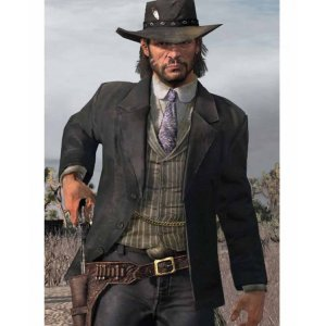 Red Dead Redemption 2 black Blazer