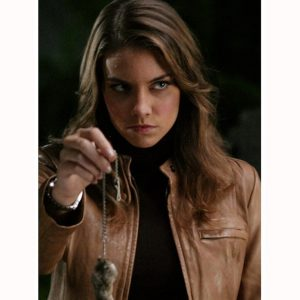 Supernatural Bela Talbot Leather Jacket