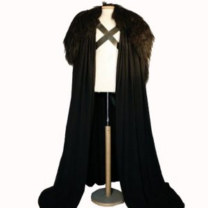 Jon Snow Cloak Cape Costume