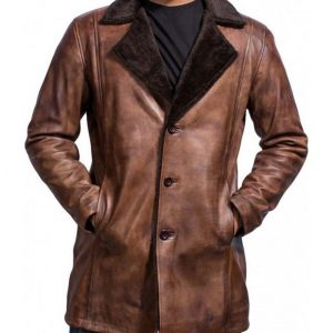 The Wolverine Logan Shearling Coat