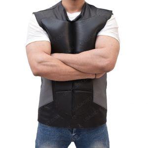 WWE Seth Rollins SlimFit Black Vest