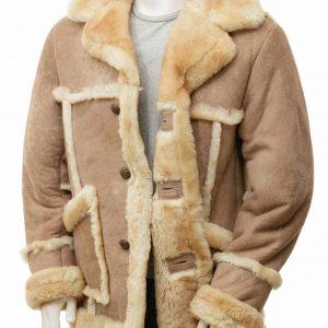 Mens Sheepskin Coat