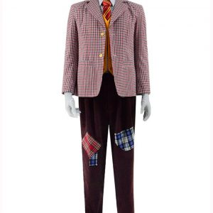 Arthur Fleck Joker Checkered Blazer