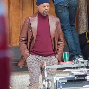 John Shaft 2019 Brown Blazer