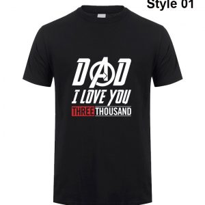 Dad I Love you 3000 Time shirt